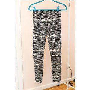 Forever 21 Tribal Pant Pattern Legging